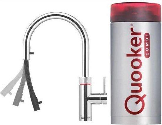 Quooker Flex - Chroom - COMBI+ Reservoir - 3 in 1