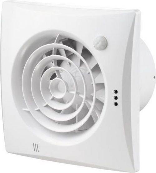Badkamer - Toilet - Ventilator Quiet Ø100mm   zeer stil   (25dB) met kogellager, timer en bewegingsmelder