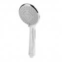 Douchekop LEHMANN ® Premium Handdouche 5 Straalsoorten Zilver 10 cm Rond – Chroom Douchekop – Handdouche – Hand douche – Hoofddouche – Goed…