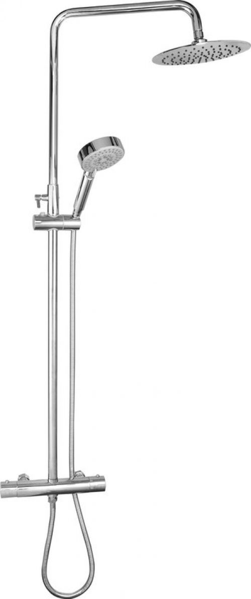 Douchesysteem LEHMANN ® Premium Douchesysteem met Thermostaatkraan Roestvrij staal Zilver - Douchesysteem met Regendouche - Douche - Goed Beoordeeld &...