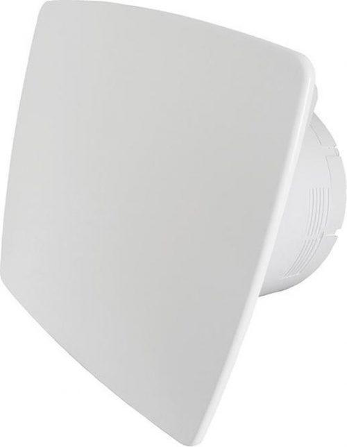 Ventilatieshop badkamer/toilet ventilator - trekkoord - Ø100mm - wit Bold-Line